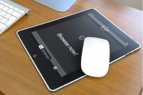 Tablet Mouse Pads - The iMousePad is Almost as Good as the Real Thing