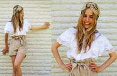 Woodland Fairy Hair - Blogger Frida Johnson Pumps Up the Volume with Turbans & Hats