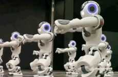Robot Back-Up Dancers