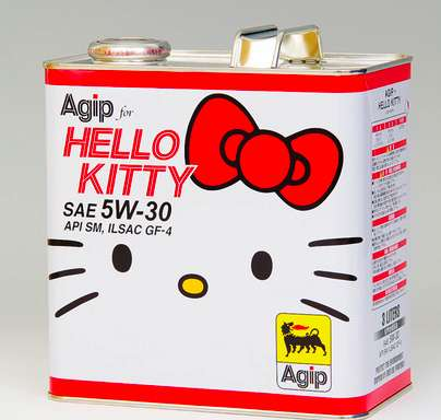 Hello Kitty Engine Oil