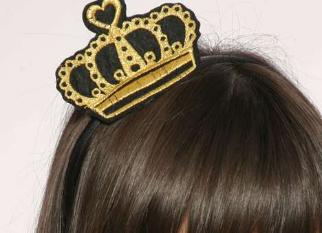 fabric crown hairband