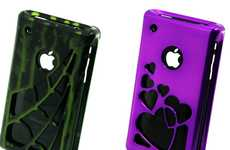 Indestructible iPhone Covers - 'Wicked Metal Jacket' Cases are Stylishly Durable