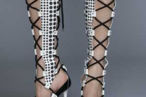 The Versace Cruise 2011 Shoe Collection is Geometric Goodness