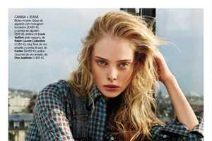 The Tanya Dziahileva Vogue Spain June 2010 Editorial is Casual Chic