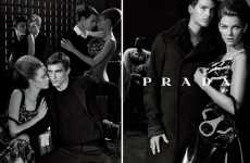 Debonair Fall Fashion - Steven Meisel Shoots Well-Dressed Drama for the Prada Fall 2010 Campaign