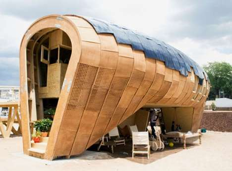 Ultra-Green Hives - The FabLab House by IAAC is Extremely Environmental