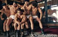 Bromantic Advertorials - The Dolce & Gabbana Fall 2010 Campaign Will Have You Drooling