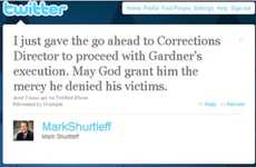 Tweeting Executions - Utah's Attorney General Mark Shurtleff Tweets an Execution Order