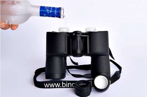 Double Flask Binoculars