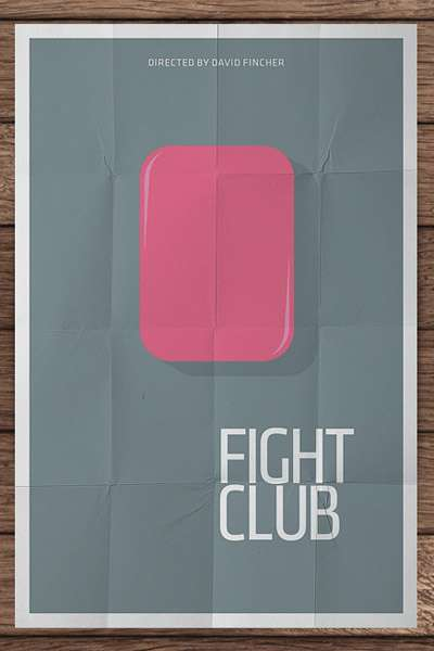 Minimalist Movie Posters - Pedro Vidotto Turns Iconic Movies into Simplistic Artwork