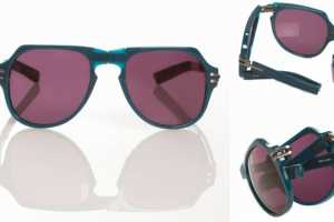 The Linda Farrow x Tim Hamilton Frames are Compact and Durable