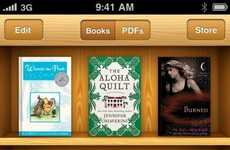 Apple-Branded Book Apps - iBooks for the iPhone & iPod Touch is a Bookworm's Dream Come True
