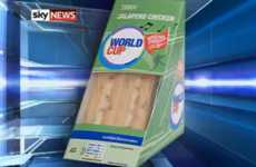 Tesco's World Cup Packaging Serenades Fans