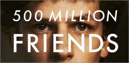 Social Networking Movie Posters - 'The Social Network' Poster Doesn't Have Many Friends