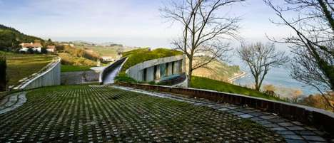 Undercover Homes - The Urrezkoenea House by Pena Ganchegui & Associates is Underground