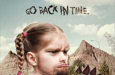 Cavekid Advertising - The Calgary Zoo 'Go Back in Time' Campaign