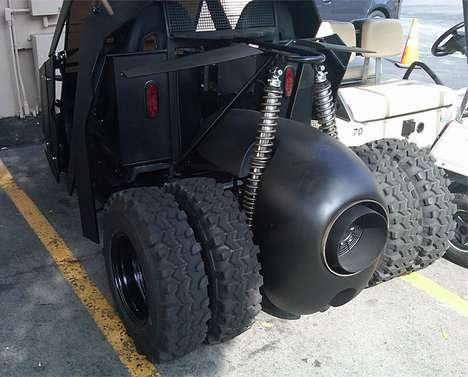 The Batman Tumbler Golf Cart