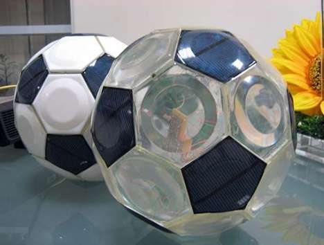 Solar Powered Footballs
