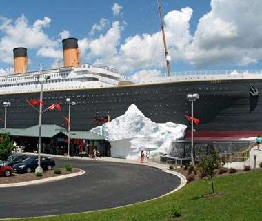 The Titanic of Pigeon Forge