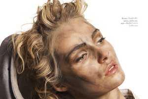 The Valentina Zelyaeva Elle Russia July 2010 Spread is Downright Dirty