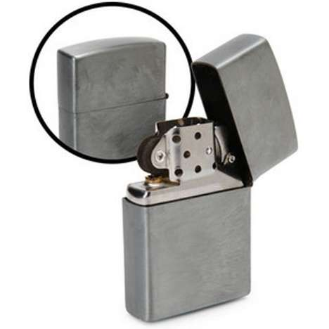 Flammable Spy Cams - The Zippo Spy Lighter Takes Full HD Spy Shots