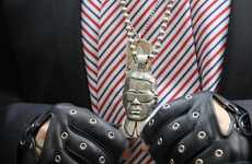 Designer Bust Pendants - The Nous Sommes Karl Lagerfeld Pendant is Iconic