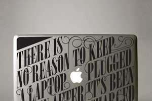 Hu2 Design's Macbook Decorations Give Good Advice