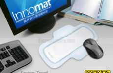 The Sanitary Towel Mouse Pad is for Periods of Intense Computing