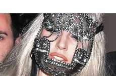 23 Outlandish Lady Gaga Headgear - From Lacy Face Masks to Elephant Headdresses
