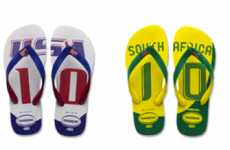 World Cup Flip-Flops - Havaianas 'Teams' Sandals Let You Rep Your Football-Frenzied Country