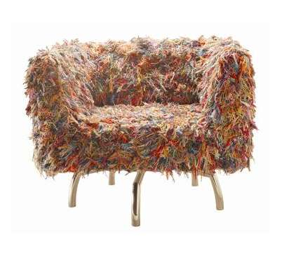 giramundo swivel yarn chair