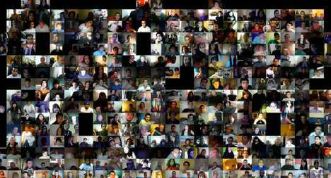 Chatroulette Artwork - The Liubo Borissov 'Crowdsource' Video is a Chatroulette Masterpiece