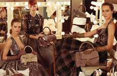 Primped-Out Ad Campaigns - The Steven Meisel Louis Vuitton Photographs are Luxurious