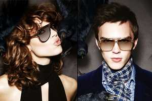The Tom Ford Fall 2010 Eyewear Collection Features a Bird Attack