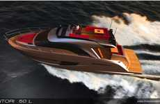Wooden Fantasy Yachts - The Sentori 50 L Will Have You Living the High Life
