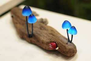 The Great Mushrooming Creates Charming Mushroom Lamps