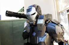 Incredible Fan Costumes - Anthony Le's War-Machine Costume is Amazing
