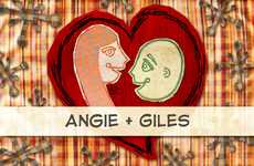 Storytelling Marriage Invites - Giles and Angie Create Awesome Illustrated Nuptial Invitations