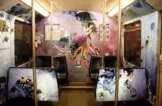 Million Dollar Design Transforms Underground Transportation With Graffiti