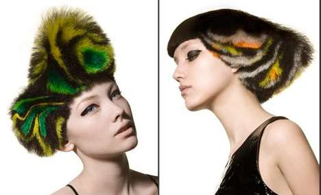 Tie-Dye Hairdos - Angelo Seminara Does Hair Skilfully With Flying Colors