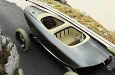 Boat-Shaped Cars