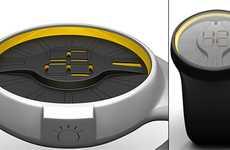 Citrus Slice Timepieces