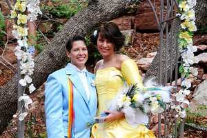 Meghann and Shasta Channel 'Beauty and the Beast' for Their Nuptials