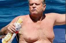 Celebri-Moob Mocking - Jack Nicholson Eating a Sandwich Becomes Bizarre Internet Meme