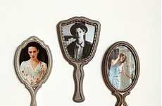Deceiving Picture Frames - The Urban Outfitters Hand Mirror Set of 3 Frames