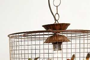 The Birdcage Hanging Lamp Will Make Your Guests Chirp