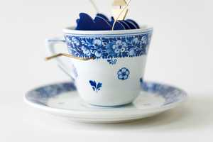 'Storm in a Tea Cup' by John Lumbus Brings Life to Tea Time
