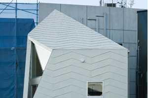 The Futuristic Tsubomi House by Flathouse