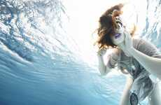Submered Fashion Photography - Susanne Stemmer Captures an Aquatic Fashionista