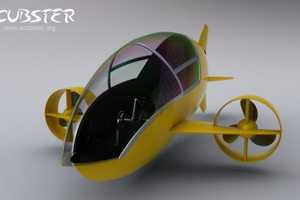 The Scubster is an Eco-Friendly Underwater Vessel